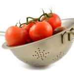Постер, плакат: Kumato tomato and red tomato