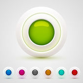 Web buttons set — Stockvector