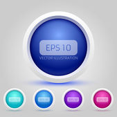 Vector Web Buttons Pack — Stock Vector