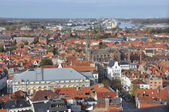 Brugge - birds eye view — Stock Photo