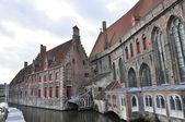 Houses in Bruges, Belgium — Stock Photo