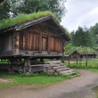 Old Norwegian Farm House (fra Telemark), Oslo, Norway — Stock Photo