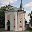 Stock Photo: Dienzenhofer - Church sv. Magdalene at Skalka