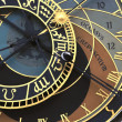 Stock Photo: Prague orloj (astronomical clock)