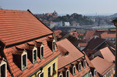 Roof way in Miessen — Stock Photo
