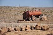 Nádrž na poušť — Stock fotografie