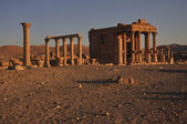The Temple of Ba'al-Shamin — Foto de Stock