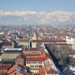 View over Turin, Italy — Stock Photo