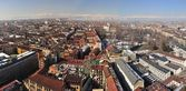 Panoramic view over Turin, Italy — Stock Photo
