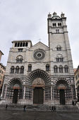 Genoa San Lorenzo cathedral — Stock Photo