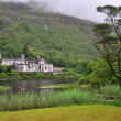 Kylemore Abbey, Ireland - Stock Photo