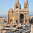 Stock Photo: Cathedrale de lMajor, Marseille, France