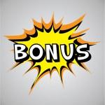 Comic book explosion bubble - bonus — Stock Vector #29554655