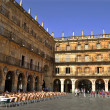 Royalty-Free Stock Photo: The Plaza Mayor in Salamanca