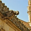 Stone gargoyle in Salamanca — Stock Photo