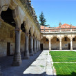 Stock Photo: Patio of Minor Schools in Salamanca