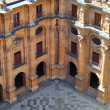 Yard of Pontifical University of Salamanca — Stock Photo