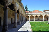 Patio of the Minor Schools in Salamanca — Stock Photo