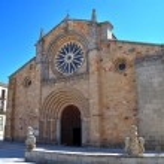 Church of San Pedro in Avila (Spain) — Stock Photo #13337155