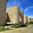 walls of avila — Stock Photo