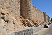 Walls of Avila (Spain) — Stock Photo