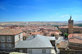 Aerial view of Avila (Spain) — Stock Photo