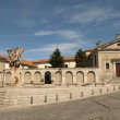 Stock Photo: Convent of SantTeresin Avil(Spain)