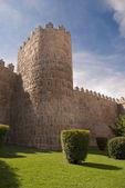 Walls of Avila (Spain) — Stock Photo