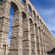 The Aqueduct of Segovia (Spain) — Foto de Stock