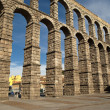 The Aqueduct of Segovia (Spain) — Stock Photo