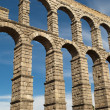 Stock Photo: Aqueduct of Segovi(Spain)