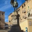 Monument to Juan Bravo in Segovia (Spain) - Stock Photo