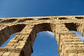 The Aqueduct of Segovia (Spain) — Stock Photo