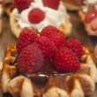 Waffles from Brussels (Belgium) — Stock Photo