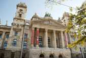 Museum of Ethnography in Budapest (Hungary) — Stock Photo