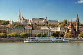 Fisherman's Bastion in Budapest (Hungary) — Stock Photo