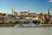 Fisherman's Bastion in Budapest (Hungary) — Stock Photo