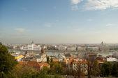 Vista aérea de Budapest (Hungría) — Foto de Stock