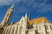 Matthias Church in Budapest (Hungary) — Stock Photo