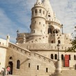 Fisherman Bastion in Budapest (Hungary) - Stock Photo