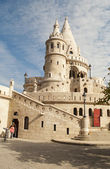 Fisherman Bastion in Budapest (Hungary) — Stock Photo