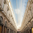Saint Hubert Galery in Brussels (Belgium) — Stock Photo