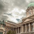 Buda Castle in Budapest (Hungary — Stock Photo