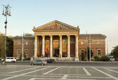 Museum of fine arts in Budapest — Stock Photo