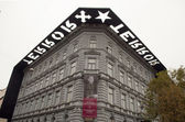 House of Terror in Budapest — Stock Photo