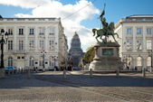 Place Royale in Brussels — Stock Photo