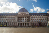 The Royal Palace in center of Brussels — Stock Photo