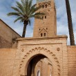 The Koutoubia mosque in Marrakesh (Morocco) — Stock Photo