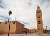 Koutubia mosque in Marrakech (Morocco) — Stock Photo