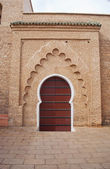 Back Entrance to the Koutoubia Mosque in Marrakech, Morocco — Zdjęcie stockowe